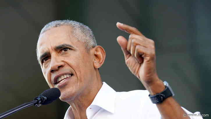 Obama accuses Republicans of trying to 'RIG' elections by passing laws requiring voters to show identification