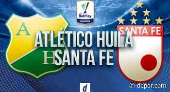 Atlético Huila vs. Santa Fe EN VIVO vía Win Sports: se enfrentan por la Liga BetPlay 2021 - Diario Depor
