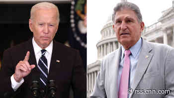 Biden hosts Manchin in Delaware to discuss finalizing spending bill