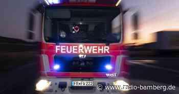 Feuer in Walsdorf im Landkreis Bamberg.