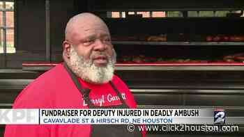 Community selling barbecue plates to raise funds for family of Harris County Pct. 4 deputy severely injured in ambush attack - KPRC Click2Houston