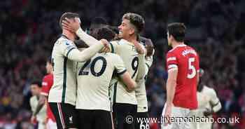 Jurgen Klopp makes 'insane' Roberto Firmino claim after Liverpool beat Manchester United 5-0