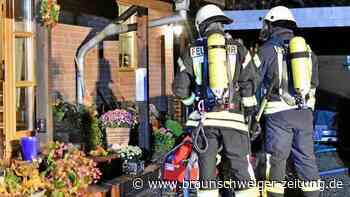 Nächtlicher Brand in Schöppenstedt: Keller steht in Flammen
