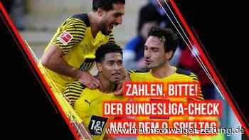 Zahlen, bitte! Der Bundesliga-Check nach dem 9. Spieltag