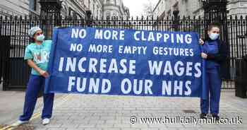 NHS staff industrial action threat increases amid anger over 3% pay rise