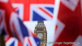 Ein Union Jack für Steuererleichterungen - so wollen die Briten ihrer Schifffahrtsindustrie helfen