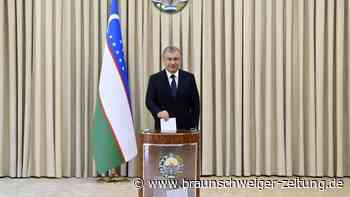 Mirsijojew in Usbekistan mit 80,1 Prozent bestätigt