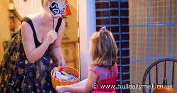 Children urged to wear light-coloured clothing this Halloween