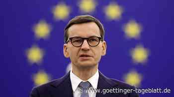 """Morawiecki droht Brüssel: EU soll keinen """"Dritten Weltkrieg"""" beginnen"""