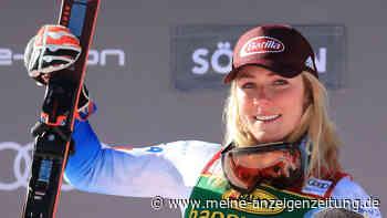 Ski-Schönheit rast zum Sieg - der neue Freund jubelt im Ziel, auch Neureuther schwärmt