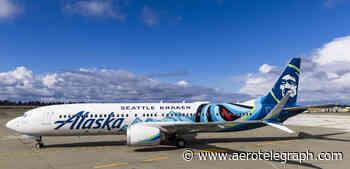 Alaska malt Eishockey-Kraken auf Boeing 737 Max - aeroTELEGRAPH