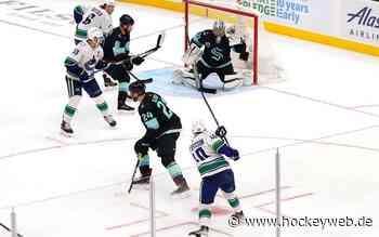 Seattle Kraken verlieren Heimspiel-Premiere - Hockeyweb.de