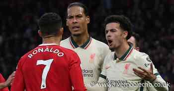 Virgil van Dijk fumes at Cristiano Ronaldo as Liverpool defender laughs off Fred