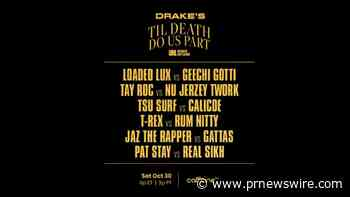 Drake Partners with The Ultimate Rap League and Caffeine to Throw a Battle Rap Event for His Birthday Called 'Til Death Do Us Part'