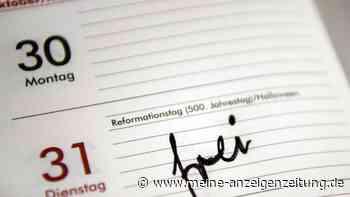 Reformationstag 2021: In diesen Bundesländern ist der 31. Oktober ein Feiertag