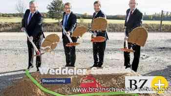 Bahn-Bauarbeiten an der Weddeler Schleife haben begonnen