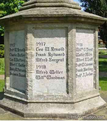 How Corporal Luff's cross became a symbol for all Croydon - Inside Croydon
