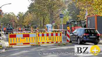 Wegen Straßenarbeiten: Verkehrsbehinderungen in Fallersleben
