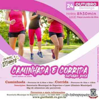 Garibaldi promove Caminhada e Corrida - Outubro Rosa neste domingo - Folha Popular