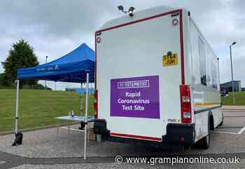 Aberdeenshire Covid-19 mobile testing venues - Grampian Online