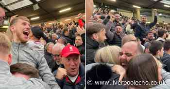 What it was really like in Liverpool away end during result of a lifetime against Man United