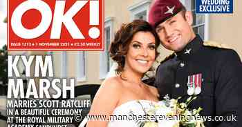 Kym Marsh looks sensational in first official photo released from her wedding day