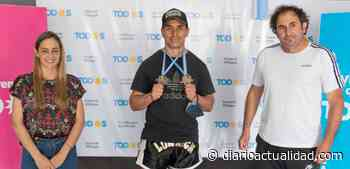 Edgar Alan Maldonado se trajo dos medallas de oro del Open Nacional de Kickboxing - DIARIO ACTUALIDAD - Actualidad