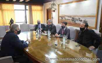 Maldonado busca desarrollar proyectos deportivos, turísticos y culturales con Francia - maldonadonoticias.com