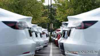 Tesla hits $US1 trillion on Hertz bulk EV order, pushing Wall Street higher