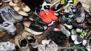 Australians hoard 200 million unused shoes - Armidale Express