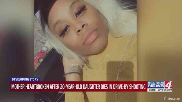 """""""My baby literally died in my arms,"""" Mother, authorities search for answers after daughter shot, killed in drive-by shooting"""