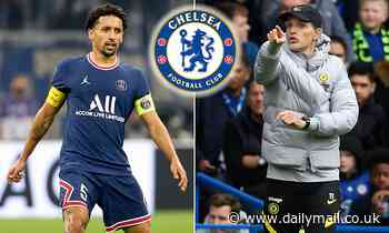 Marquinhos hints Chelsea made an approach for him this summer but PSG 'blocked talks straight away'