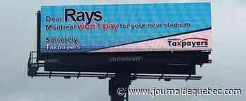 Retour du baseball à Montréal: un message est lancé aux Rays