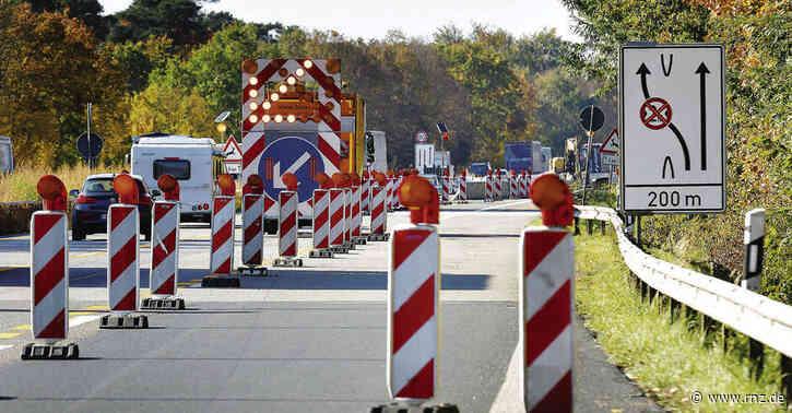 Heidelberg/Speyer:  Nächste Phase der A61-Bauarbeiten
