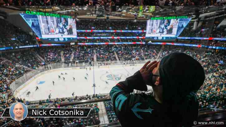 Kraken inaugural home opener a success despite loss to Canucks - NHL.com