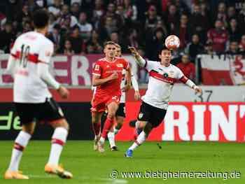 9. Spieltag: Später VfB-Treffer rettet Punkt gegen Union - Bietigheimer Zeitung