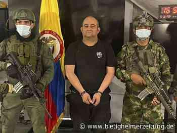 Kriminalität: Meistgesuchter Drogenboss Kolumbiens im Dschungel gefasst - Bietigheim-Bissingen - Bietigheimer Zeitung