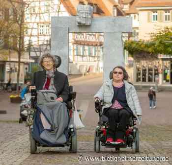 Barrierefreies Bieitgheim-Bissingen: Behinderte Bürger haben kaum Kritik - Bietigheimer Zeitung