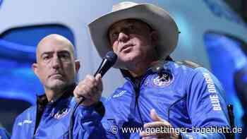 Anlaufpunkt für Weltraumtouristen: Jeff Bezos' Raumfahrtfirma plant eigene Station im All
