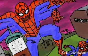 Menacing Spider-Men plague Allendale Campus, cartoonist claims - Grand Valley Lanthorn