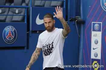 Debuut Sergio Ramos bij PSG lijkt eindelijk aanstaande
