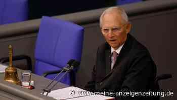 Eklat nach wenigen Minuten: AfD-Aufstand gegen Schäuble in erster Sitzung des neuen Bundestags