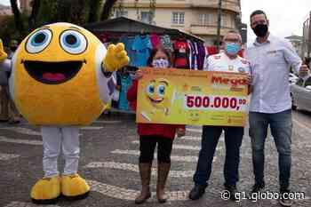 Morador de Ponta Grossa leva sozinho prêmio de R$ 500 mil da Megamania - G1