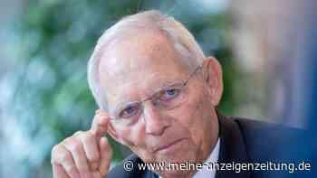 Bundestagspräsident Schäuble nur noch Alterspräsident - Nachfolgerin wird jetzt im Bundestag gewählt
