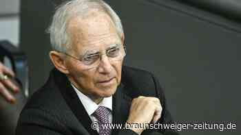 """Schäuble im Bundestag: """"Ohne Kompromisse geht es nicht"""""""