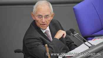 Schnelle Änderung des Wahlrechts: Schäuble warnt vor weiterer Aufblähung des Bundestags