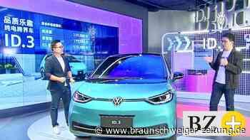 Volkswagen startet Verkauf von Elektroauto ID.3 in China