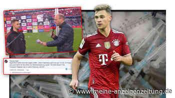"""""""Geht Sie gar nix an"""": FC Bayern-Fans feiern ungeimpften Joshua Kimmich für ehrliche Ansage"""