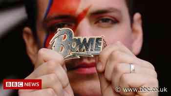 David Bowie: Pop-up shop opens in London