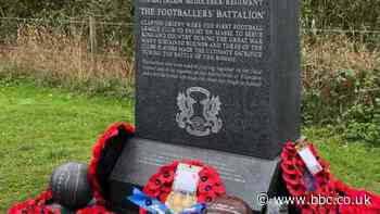 Leyton Orient: Club becomes first to unveil English memorial to its World War One dead